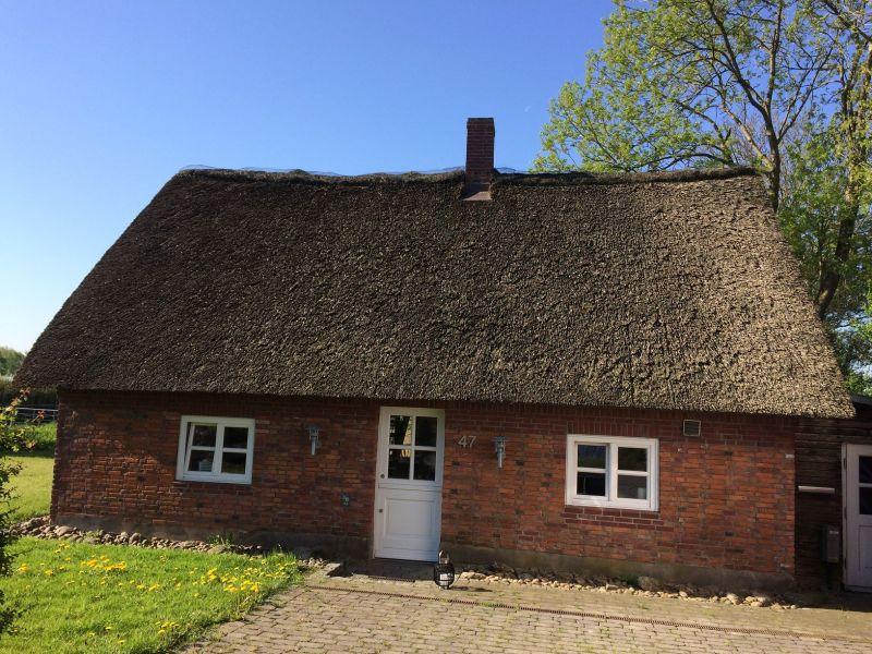 Reetgedecktes Ferienhaus Haubarg-Kieker