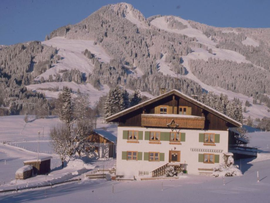 Landhaus Eibeler in Obermaiselstein - Winter