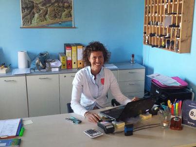 Your host Bernadette Kunkel