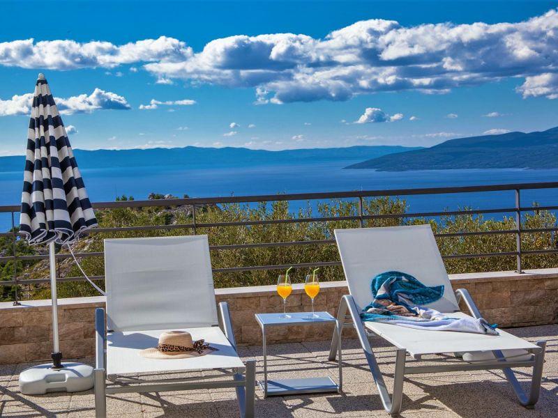 Holiday house Villa Blue mit Pool, Makarska