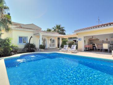 Ferienhaus Villa mit Privatpool Denia