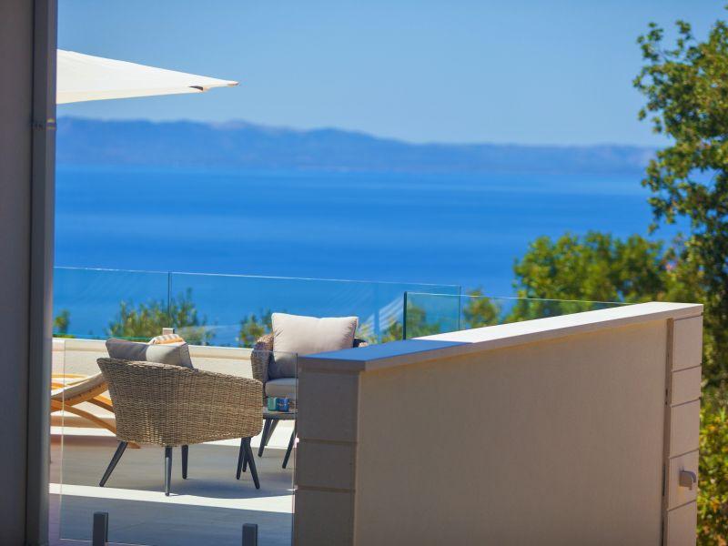 Villa Divino mit Pool, Panorama Meerblick