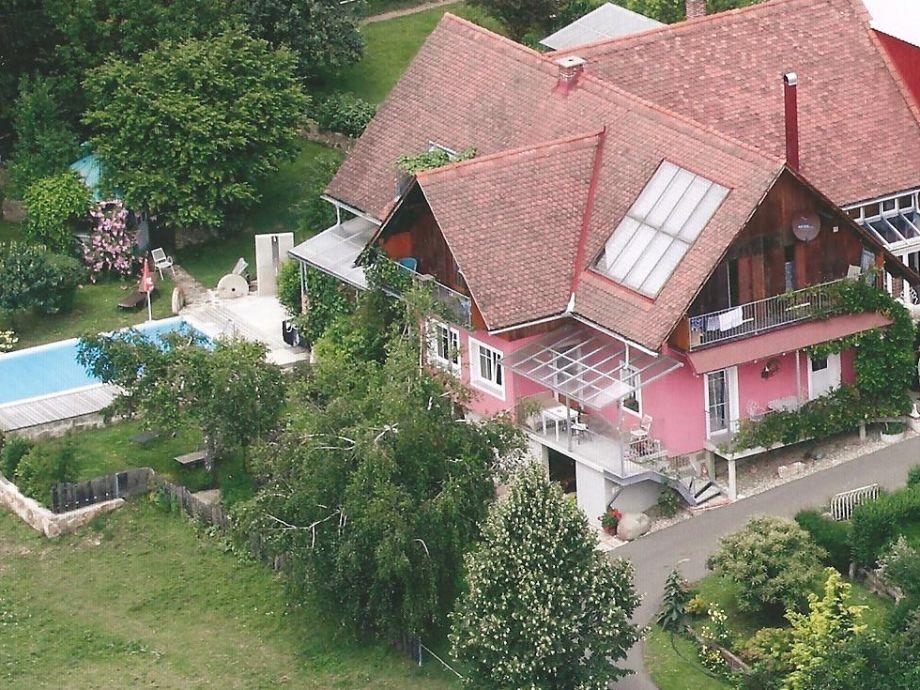 aerial photograph house lenz