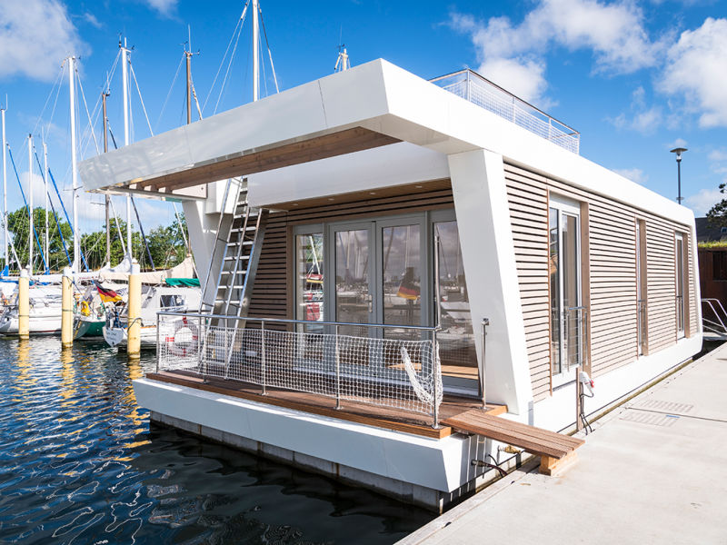 Hausboot Floating Homes A-Type Großenbrode (FH-GB-03)