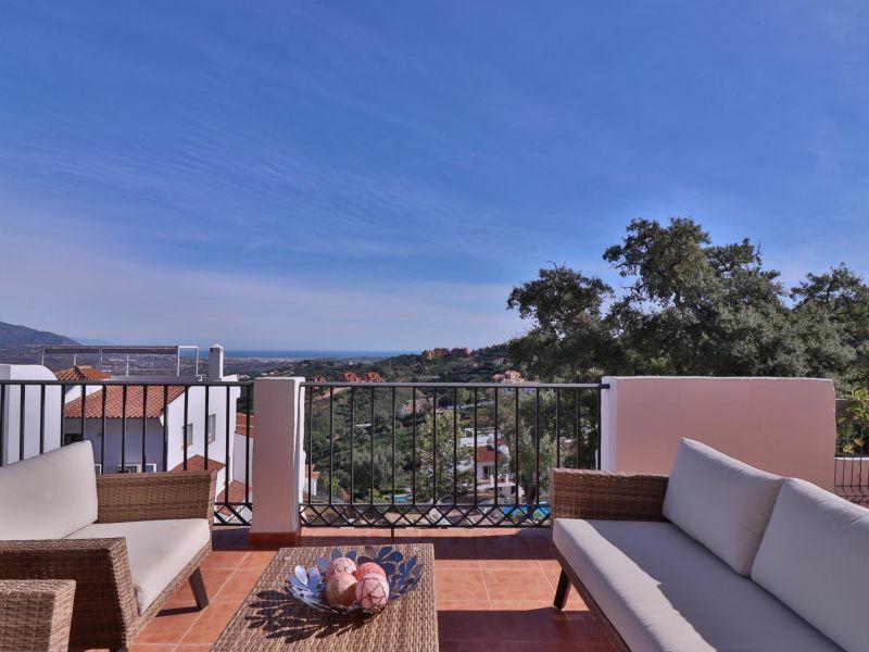 Ferienwohnung Marbella Meerblick-Luxus  in Elviria Alta