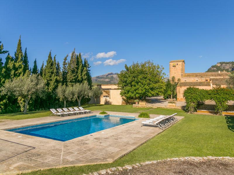 Villa Historisches Haus Mallorca Pool Wlan Klimaanlage