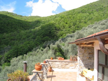 Holiday apartment Natural stone house in Evigno