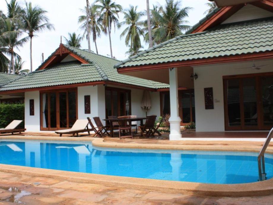 Traum schlafzimmer mit pool  Ferienhaus Beach Villa in Koh Samui, Ko Samui - Firma idyllic ...