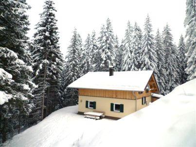 Berghütte Eichhörnchen Hütte