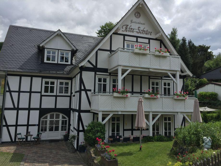 Ferienhaus Alte Schüre im Sommer