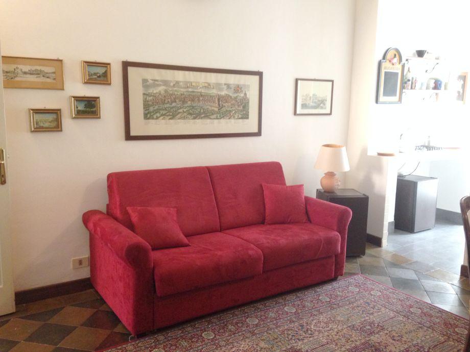 ausziehbares sofa im wohnzimmer - Treppe Mitten Im Wohnzimmer