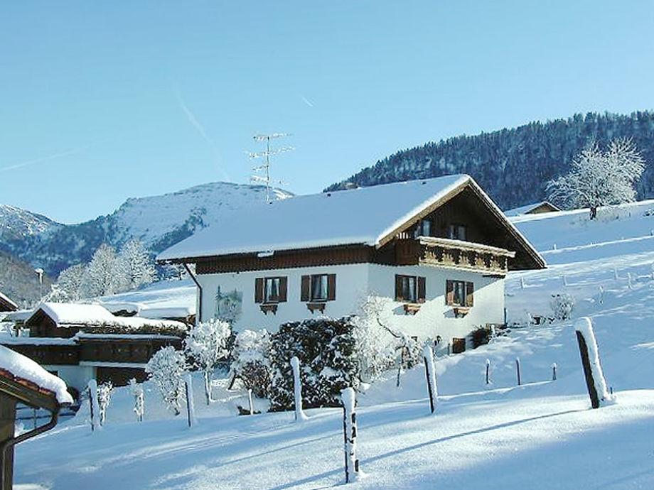 Haus Denz im Winter