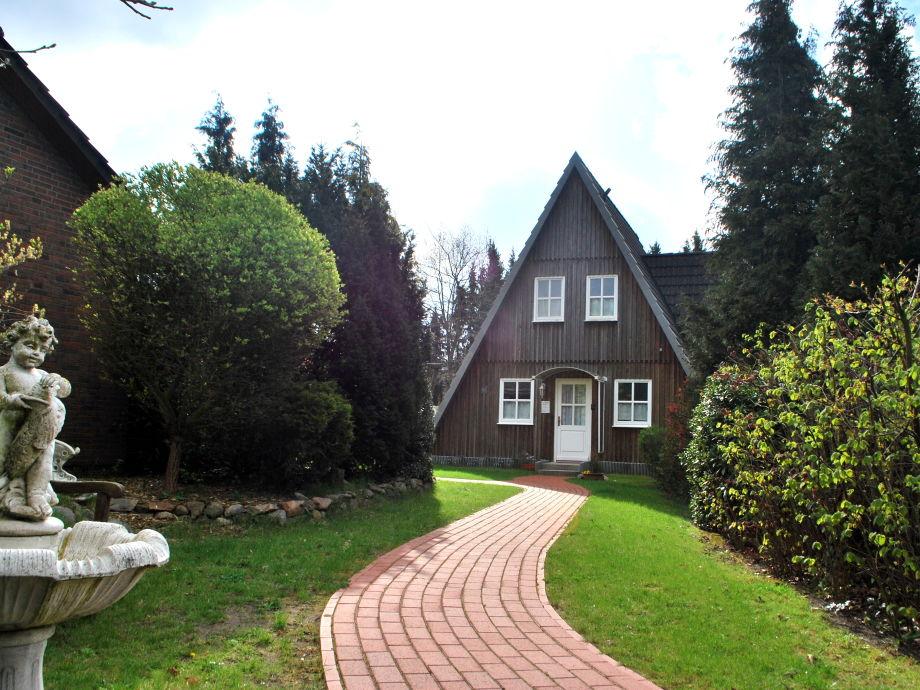 Zugang zum Ferienhaus Eichhörnchen in Kirchlinteln