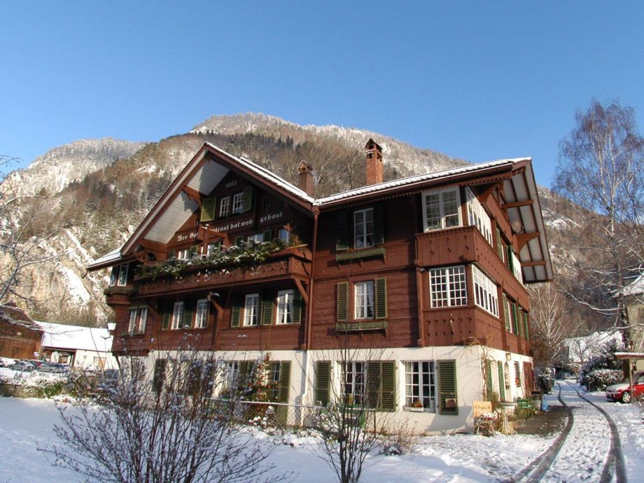 CityChalet im Winter