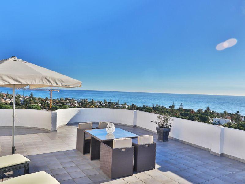 Holiday apartment Marbella SEA VIEWS Beachside PENTHOUSE