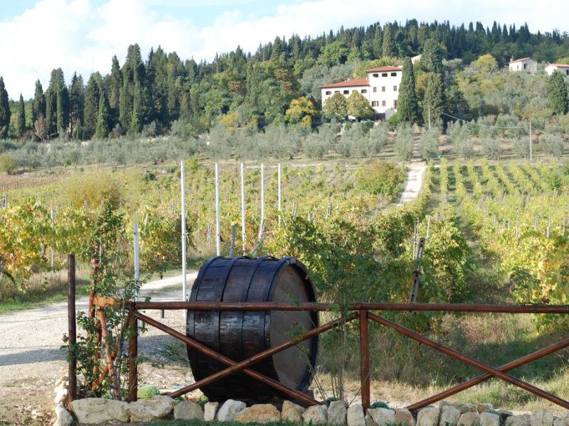 Historische Villa bei Florenz