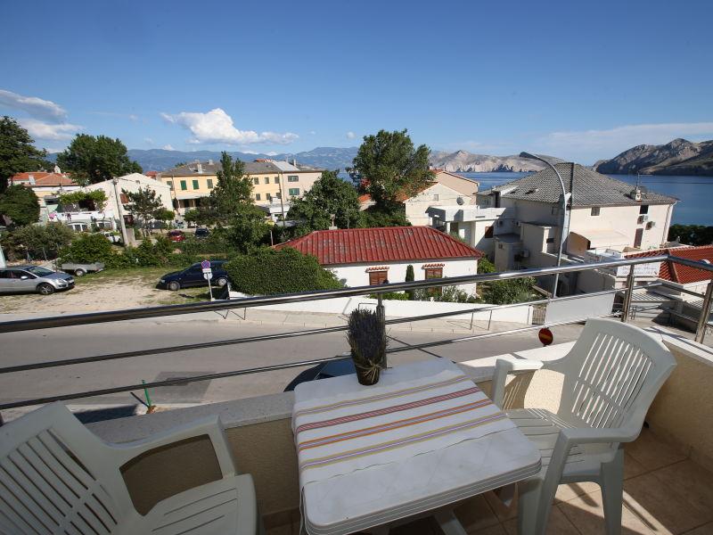 City Center Apartment B3 mit Balkon und Meerblick