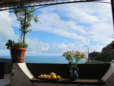 Ferienwohnung Amalfitraum mit Meerespanorama