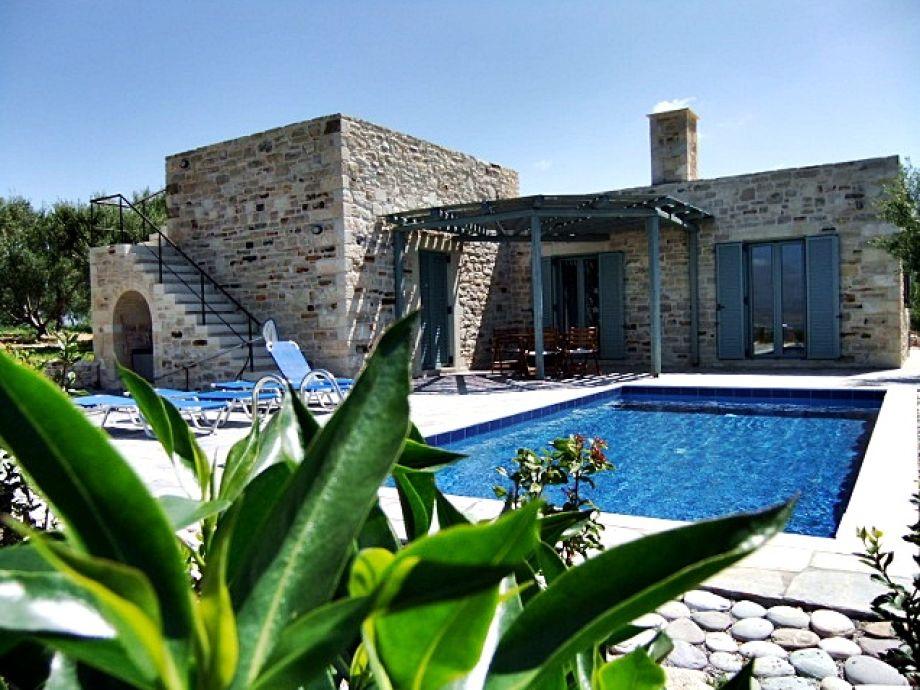 Außenaufnahme Villa Chalikia