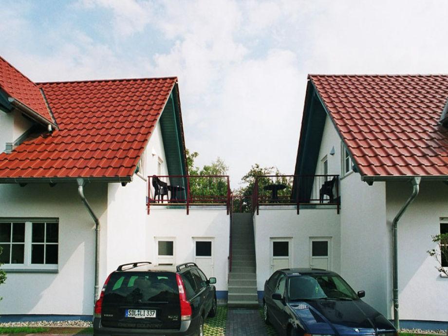 Zugang zu den Ferienwohnungen