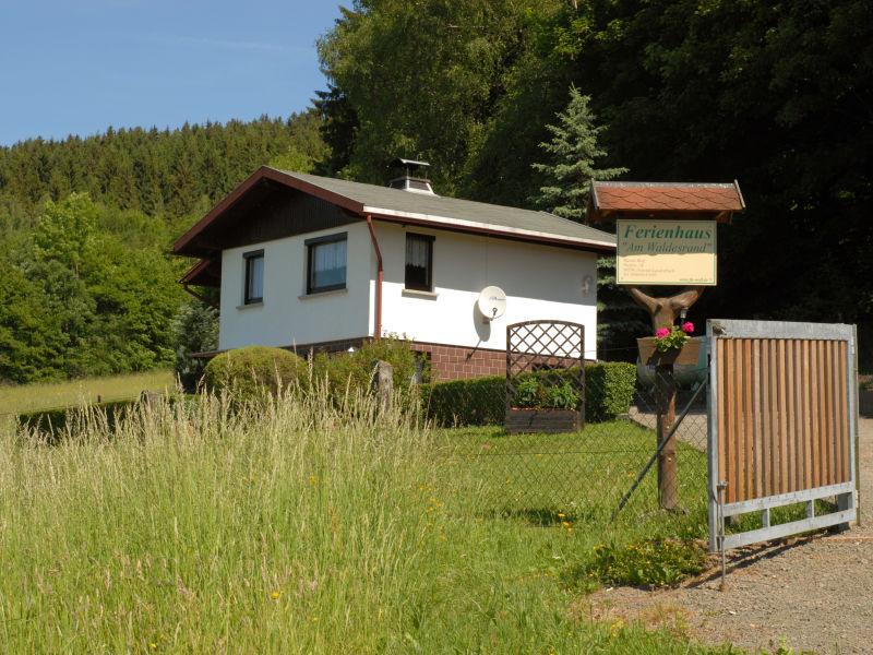 """Ferienhaus """"Am Waldesrand"""""""