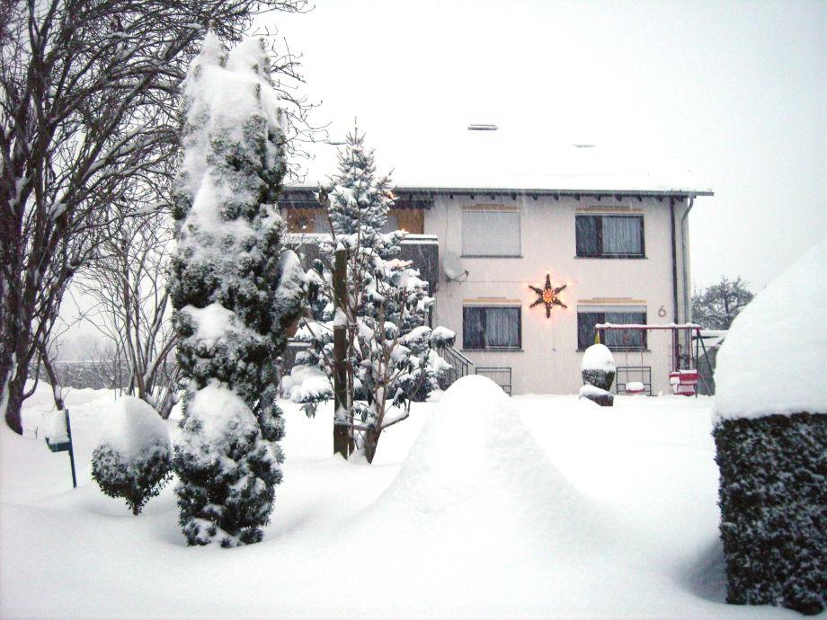 Haus-Giray im tiefsten Winter