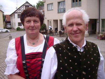 Ihr Gastgeber Annamaria u. Franz Giray