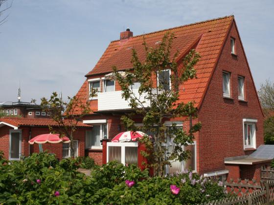 Ferienwohnung auf der Insel Juist Haus kehr wieder