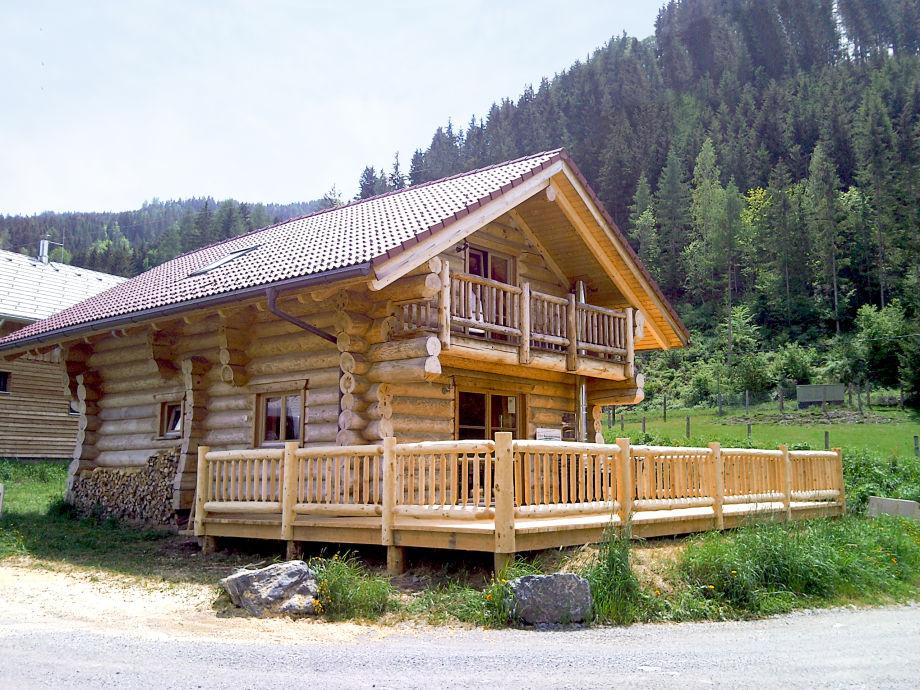 Canada block house
