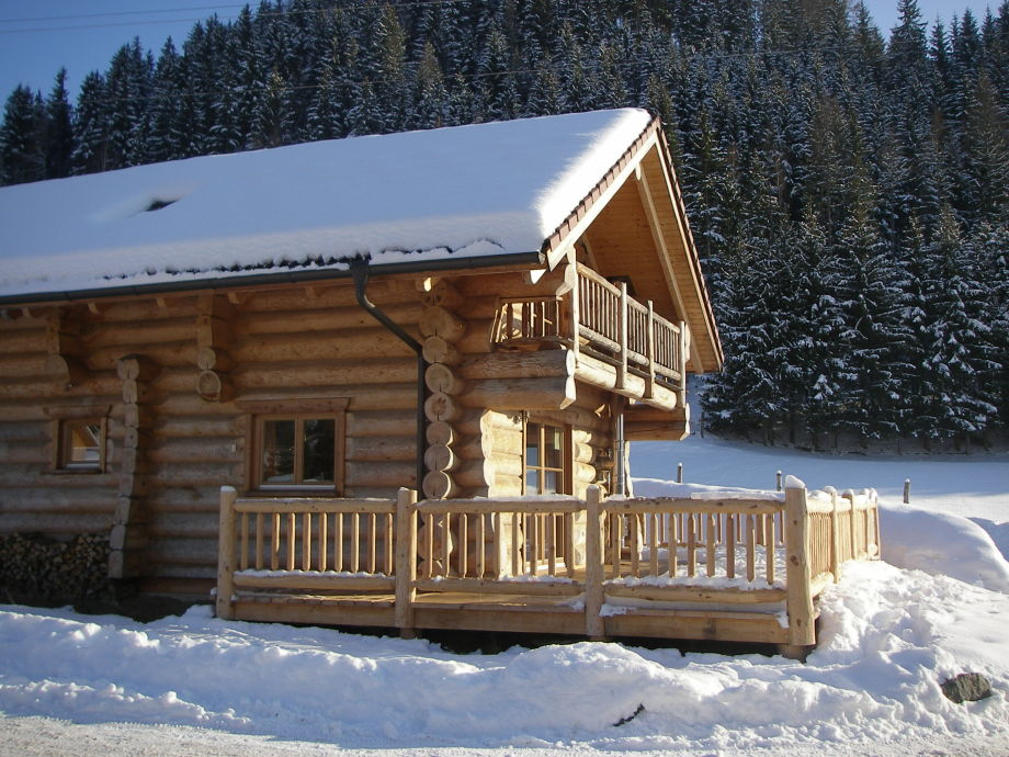 Canadian style log house