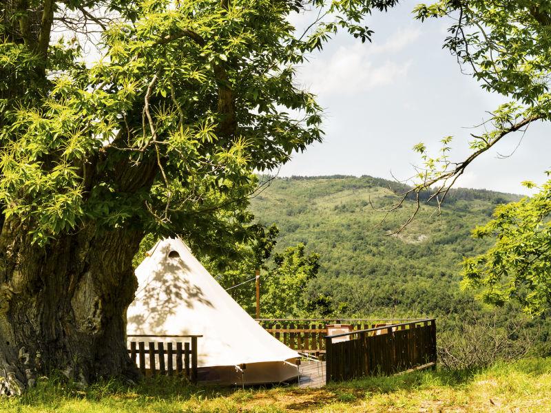 Organic farm Glamping tent