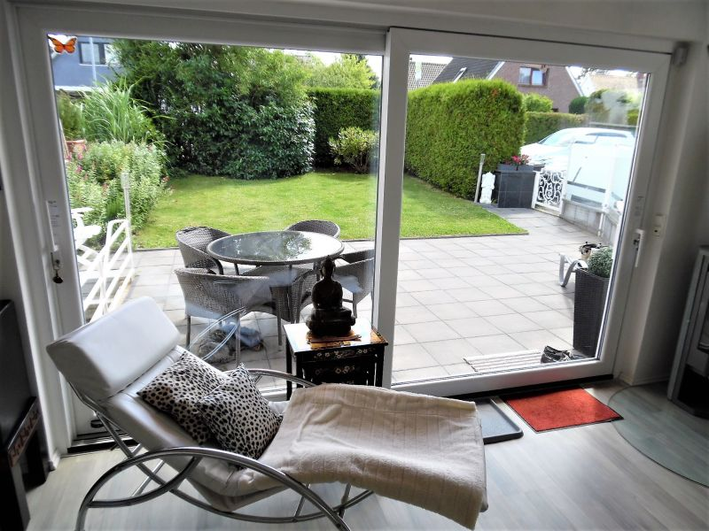 Schickes modernes Luxus Ferienhaus, Garten, Kamin