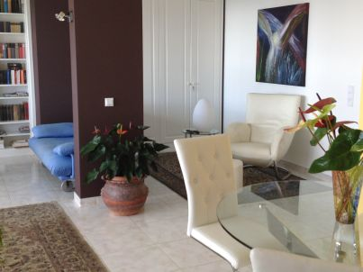 Luxuriöses Penthouse mit Meeresblick, 80 qm
