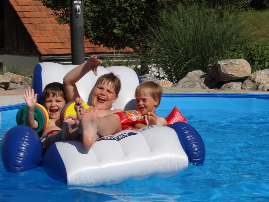 Spaß an heißen Sommertagen