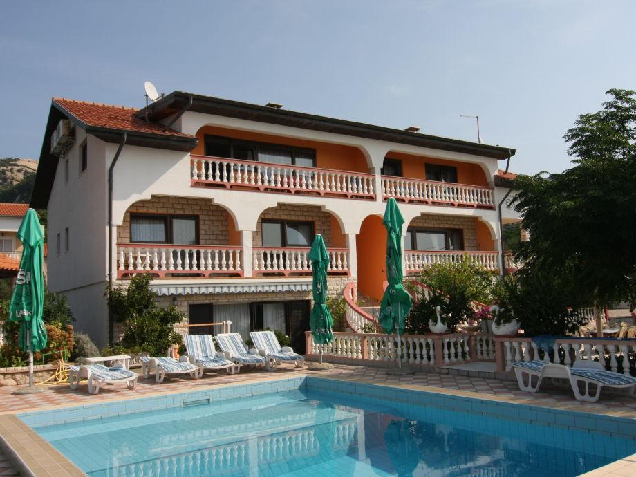 Swimmingpool-Villa Veronika auf der Insel Rab