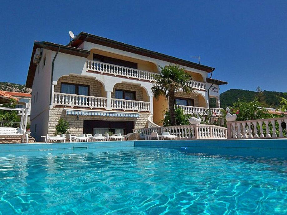 Swimmingpool-Villa Veronika - Ferienwohnungen Insel Rab