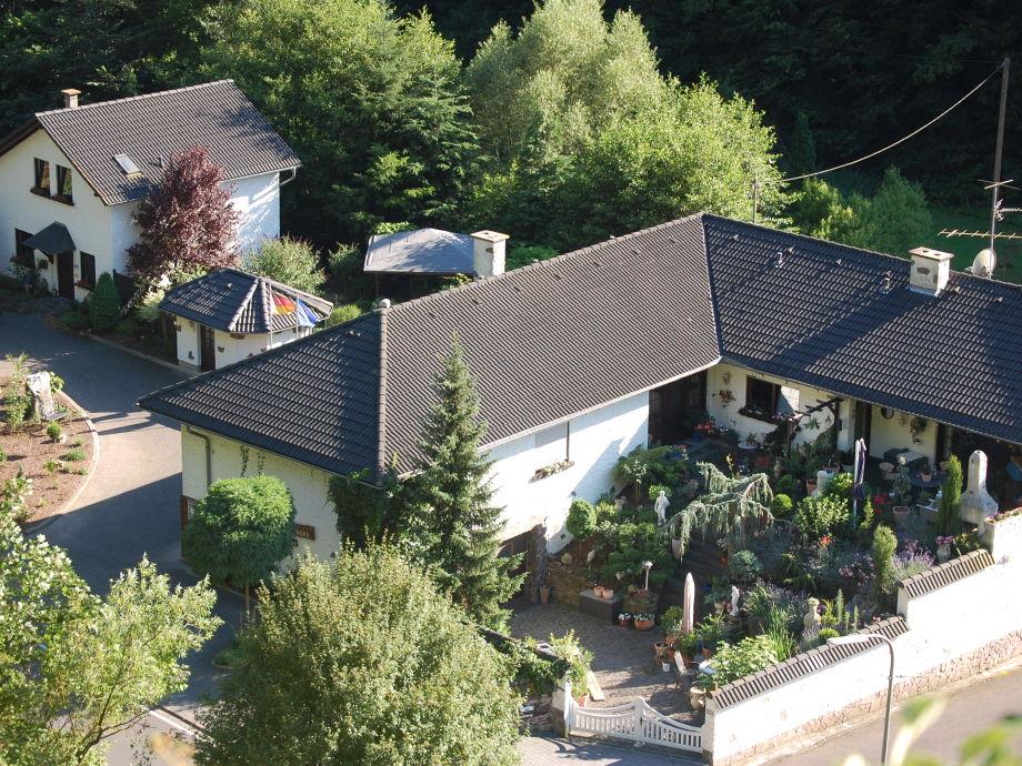 Haus Hoffmann aus der Vogelperspektive
