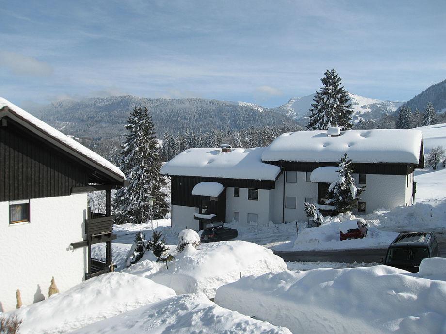 Ferienwohnung Schneider mit Oberstaufen Plus