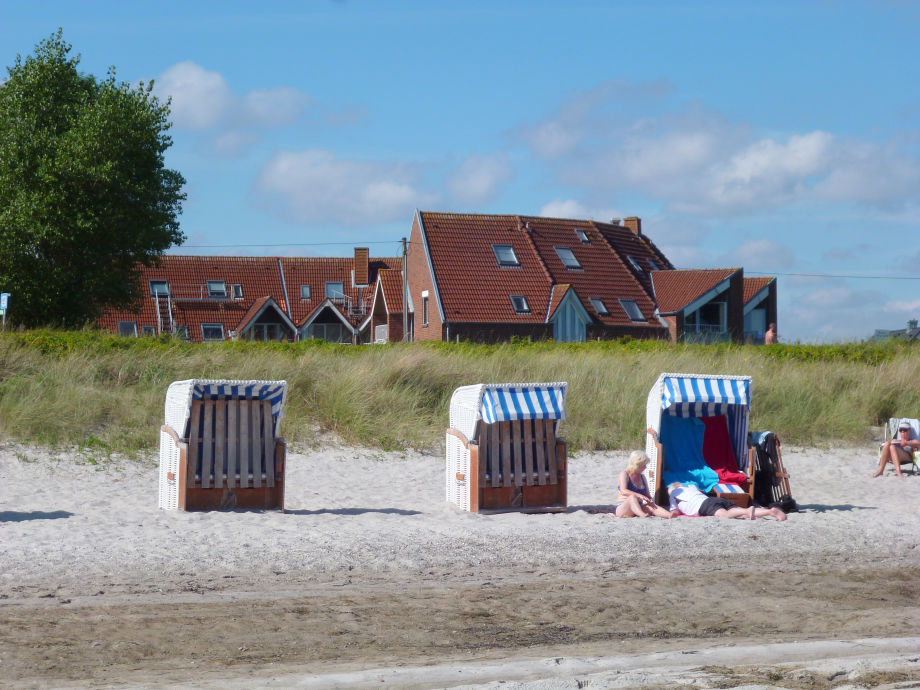 Sie wohnen direkt am schönen Kronsgaarder Strand