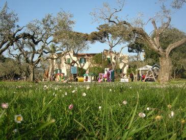 Ferienwohnung Villaggio Azzurro im Privatpark