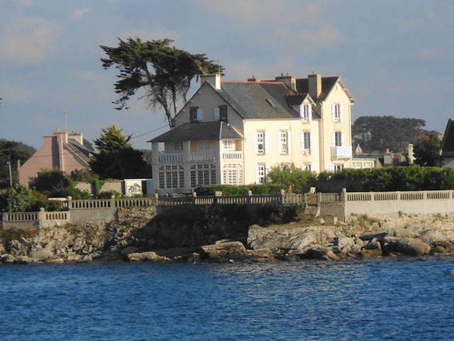 Außenaufnahme Haus am Meer