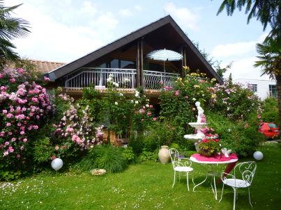 Rosengarten Ferienwohnung Rosenduft