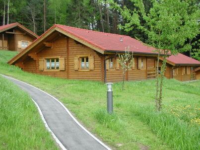 Romantik Blockhaus am Waldrand