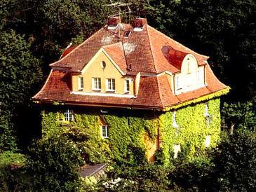 Ferienwohnung Toscana in der Villa Burgblick