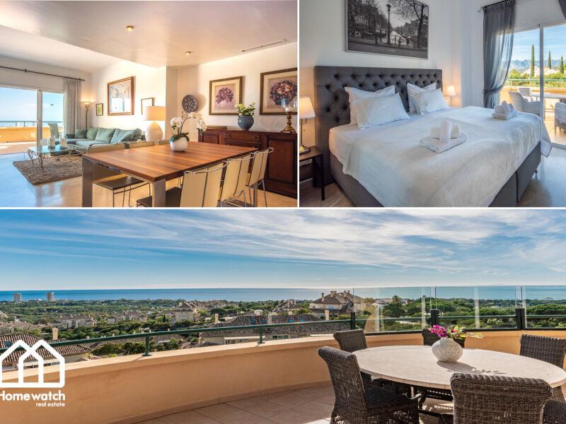 Ferienwohnung Luxuriöses Apartment mit einzigartigem Meerblick in E