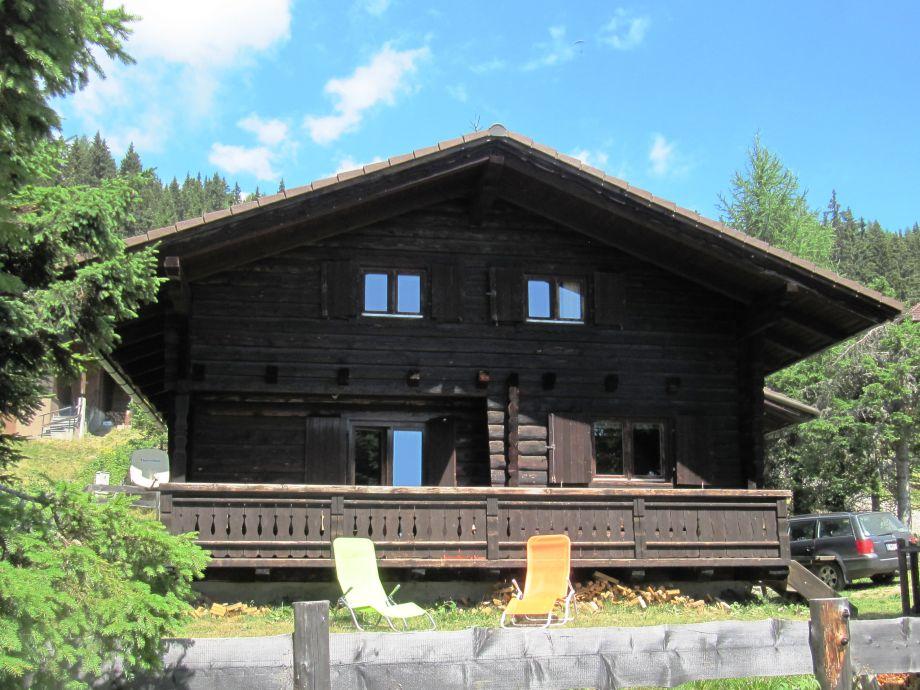 Die Hütte im Sommer...