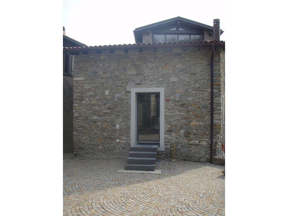 Frontansicht Casa Negri