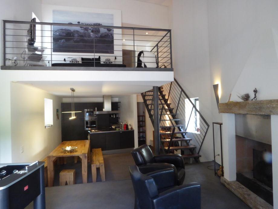 Wohn-Essbereich mit Galerie