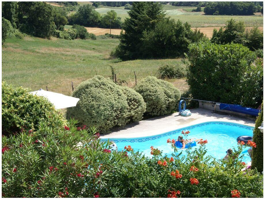 Domaine la Fontaine - Schwimmbad