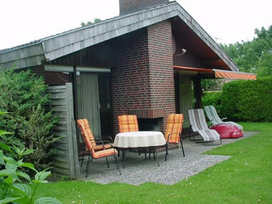 Unser Ferienhaus mit Terrasse